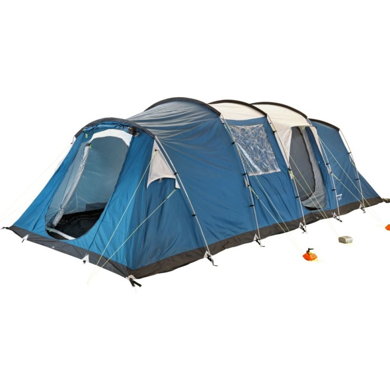 Trespass Go Further 8 Man 4 Room Family Tent Tents