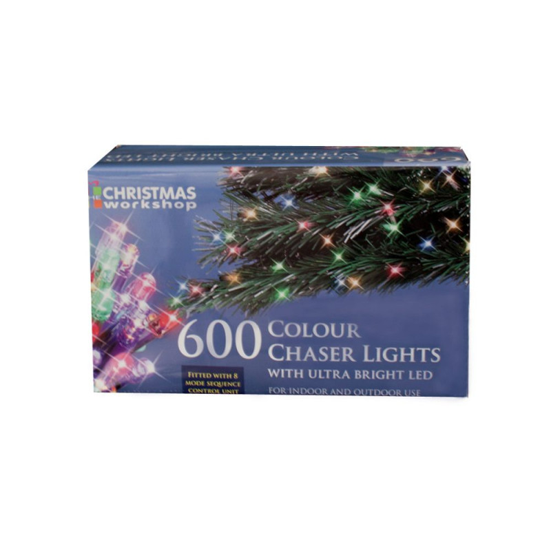 600 multifunction led chaser christmas tree lights multicoloured