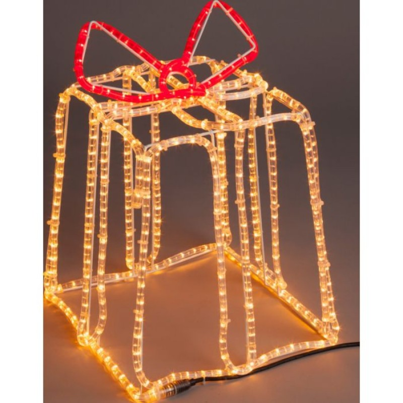 Light Up Parcels Christmas Decorations Argos: 3m Christmas Gift Parcel Rope Light