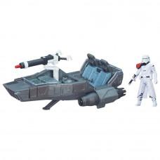 The Force Awakens Star Wars Snowspeeder & Action Figure