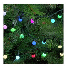 Home 160 LED Berry Christmas Tree Lights - Multicoloured
