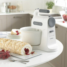 Kenwood HM670 Chefette Cake Dough Hand Mixer - White