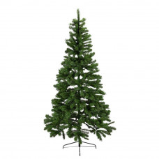 Home Northstar Mixed Green Christmas Tree With Lights - 8ft