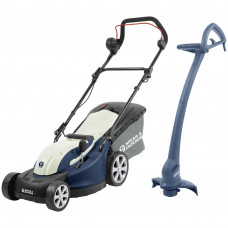 Spear & Jackson 1300W Rotary Lawnmower & 350W Grass Trimmer