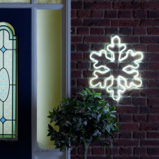 Home Neon Large Light Up Snowflake