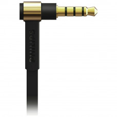 Philips TX2 In-Ear Headphones With Mic - Black And Gold