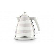 Delonghi KBAC3001.W Avvolta 3kw Cordless Jug Kettle - White & Grey