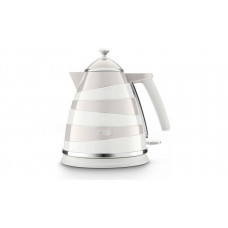 Delonghi KBAC3001.W Avvolta 3kw Cordless Jug Kettle - White & Grey
