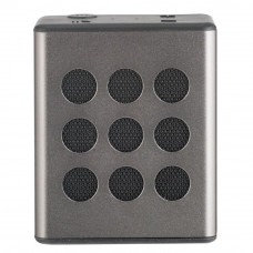 Bush Aluminium Bluetooth Wireless Speaker - Silver