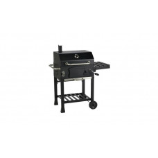 Home American Style Charcoal BBQ - Black (No Charcoal Tray Crank Handle)