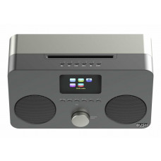 Bush All-In-One DAB Bluetooth CD Micro System - Black (No Remote Control)