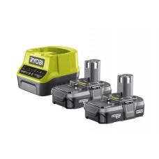 Ryobi RC18120-213 18V ONE+ Lithium 2 x 1.3Ah Batteries & Charger