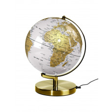 "Wild Wood Light Up 10"" Globe - Arctic White"