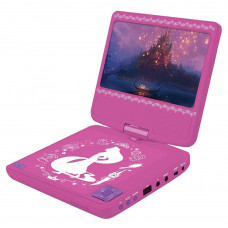 Lexibook Disney Princess Portable DVD Player - Pink
