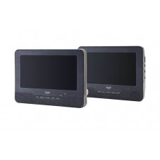 Bush 9 Inch Dual Screen In Car DVD Player (No Car Brackets)