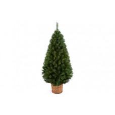 Premier Decorations 4ft Redwood Hinged Basket Tree - Green