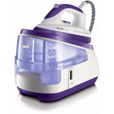 Philips GC8340 5 Bar Steam Generator Iron - White/Purple