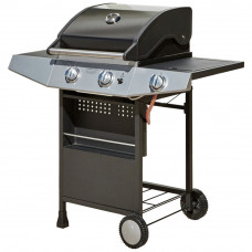 Premium 2 Burner Gas BBQ with Side Burner