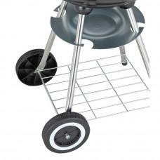 Home 43cm Kettle Charcoal BBQ - Black
