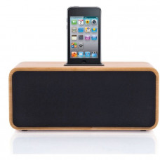 Bush Speaker Dock - Wood (No Remote Control)