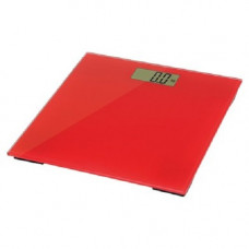 Visage Pro Style Coloured Electronic Bathroom Scales - Red