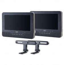 Bush 7 Inch Dual Screen In Car DVD Player