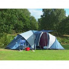 Trespass Go Further 6 Man Tent with Carpet (B Grade)