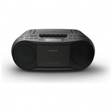 Sony CFD-S70 Cassette and CD Player – Black