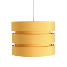 Habitat 3 Tier 30cm Lamp Shade - Mustard