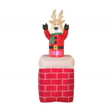 Home Inflatable Bobbing Reindeer