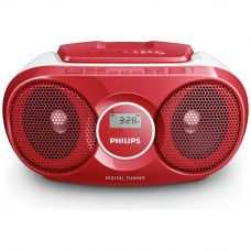 Philips AZ215R/05 CD Boombox - Red