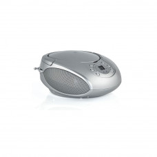 Alba Portable CD Player/Radio - Silver