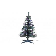 Home 3ft Fibre Optic Christmas Tree - Green
