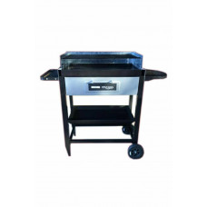 Lower Tray For Bar-Be-Quick Steel Portable Trolley Grill & Bake BBQ 3248175