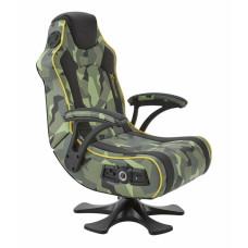 X-Rocker Covert Dark Ops 2.1 Wireless Audio Gaming Chair