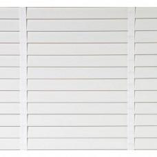 Home Elliott 50mm Wooden Tape Venetian Blind - White