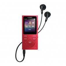 Sony NW-E394 Walkman 8GB MP3 Player - Red