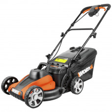 WORX Cordless WG778E Lawnmower (No Batteries,Charger & Clip)