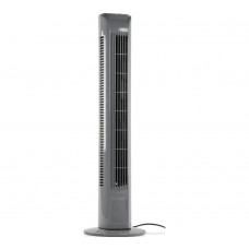Challenge Grey Oscillating Tower Fan with Remote Control