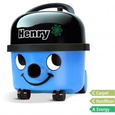 Numatic HVR200 Henry Bagged Cylinder Vacuum Cleaner Blue & Black