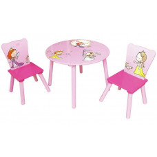 Liberty House Princess Round Table & Chairs Set