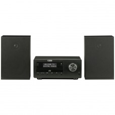 Acoustic Solutions Bluetooth DAB CD Micro System - Black (No Remote Control)