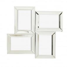 Home Mirrored Multi Aperture Picture Frame