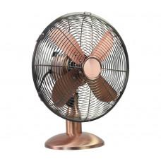 Challenge Copper Oscilating Desk Fan - 12 Inch