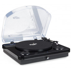 Bush Turntable with Speakers - Black