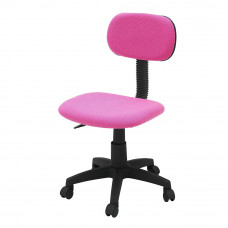 ColourMatch Gas Lift Adjustable Office Chair - Pink
