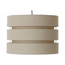 Home 3 Tier 30cm Lamp Shade - Cafe Mocha
