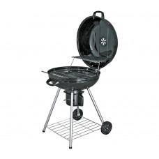 Home 56cm Kettle Charcoal BBQ - Black