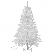 Collection 6ft Pre-lit Christmas Tree - White