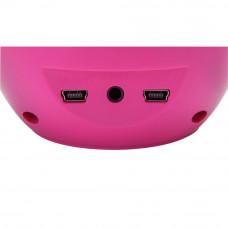 Pretty Pink Water Dancing Speakers